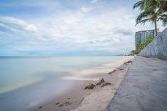 Huahin海滩 免版税库存图片