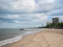 Huahin beach,Prachuap Khiri Khan Province,Thailand Royalty Free Stock Photos