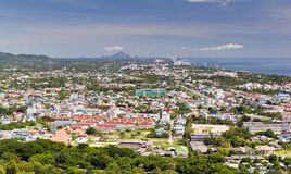 Huahin city Royalty Free Stock Photo