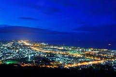 HuaHin City on Twilight sky Royalty Free Stock Photos