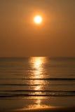 Huahin sea sand warm wave beautiful shine Stock Image