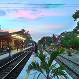 HuaHin station Stock Photography