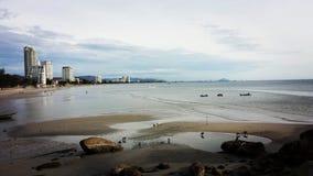 Huahin-Strand Stockbilder
