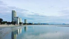 Huahin-Strand Lizenzfreies Stockfoto