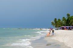 HUAHIN Tailandia: Spiaggia Fotografia Stock Libera da Diritti