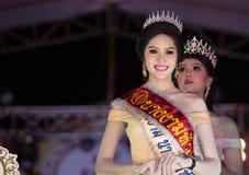 HUAHIN THAILAND-29APR, 2016年:壮丽的场面错过huahin 2016年,衣物 库存图片