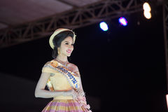 HUAHIN THAILAND-29APR,2016:The pageant miss huahin 2016,clothing. Retro style Royalty Free Stock Photography