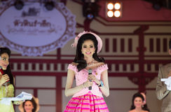 HUAHIN THAILAND-29APR,2016:The pageant miss huahin 2016,clothing. Retro style Royalty Free Stock Image