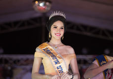 HUAHIN THAILAND-29APR,2016:The pageant miss huahin 2016,clothing. Retro style Stock Photography