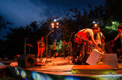 HUAHIN Thailand : Band is playing Stock Images