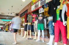 HUAHIN, Thailand : clothes shop Royalty Free Stock Photography