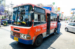 HUAHIN, Thailand : Local Bus Service Royalty Free Stock Image