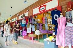 HUAHIN, Thailand : Shirt shop Royalty Free Stock Photo