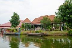 HUAHIN, Thailand :water market Royalty Free Stock Photo