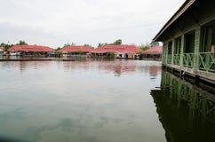 HUAHIN, Thailand :water market Royalty Free Stock Photos