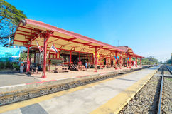 HUAHIN train station. Stock Photography