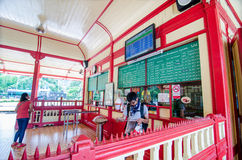 HUAHIN train station. Stock Photos
