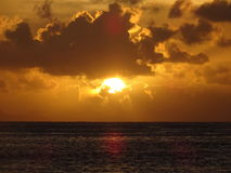 Huahine-Insel Stockfotos