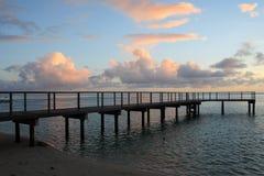Huahine Insel - französische Polinesien Lizenzfreies Stockfoto