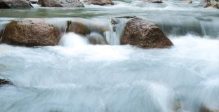 Huai Bae Waterfalls in het Wildernis Nationale Park Lampang Stock Foto