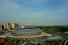 Huai'an in Jiangsu Olympic Sports Center Royalty Free Stock Image