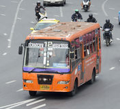 12 Huai Khwang - αυτοκίνητο οδικών λεωφορείων Υπουργείου εμπορίου Στοκ φωτογραφία με δικαίωμα ελεύθερης χρήσης
