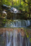 Huai Lao Waterfall  in rain forest at Loei Province in Thailand , Soft focus Royalty Free Stock Image