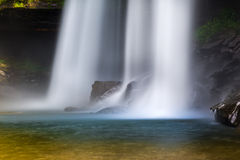 Huai Luang vattenfall Royaltyfria Bilder