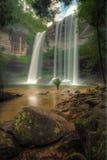 Huai Luang-Wasserfall lizenzfreies stockbild