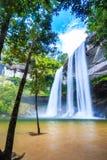 Huai Luang waterfall in Thailand Stock Photos