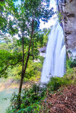 Huai Luang waterfall in Thailand Royalty Free Stock Photo