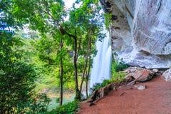 Huai Luang waterfall in Thailand Stock Photo
