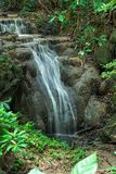 Huai Mae Kamin, bella cascata Immagini Stock