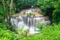 Huai Mae Kamin, bella cascata Immagine Stock