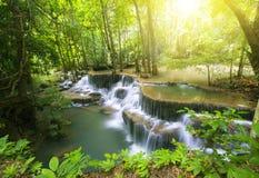 Huai Mae Kamin vattenfall 1 Royaltyfri Bild