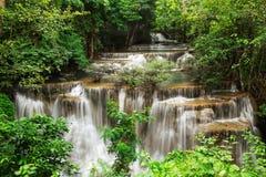 Huai Mae Kamin Waterfall Royalty Free Stock Image