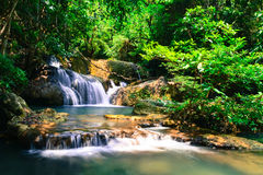 Huai Mae Kamin Waterfall Royalty Free Stock Image