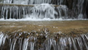 Huai Mae Kamin Waterfall stock footage