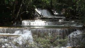 Huai Mae Kamin Waterfall stock video