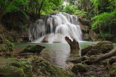 The Huai Mae Kamin waterfall Stock Image
