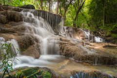 Huai Mae Kamin waterfall royalty free stock photos