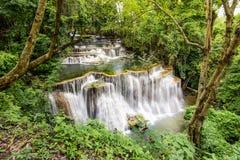 Huai Mae Kamin Waterfalls Stock Photos