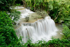 Huai mae khamin waterfall Royalty Free Stock Images
