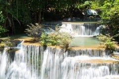 Huai Mae Khamin Waterfall Royalty Free Stock Images