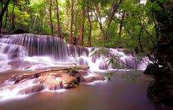 Huai Mae Khamin Waterfall Kanchanaburi Fotografía de archivo libre de regalías