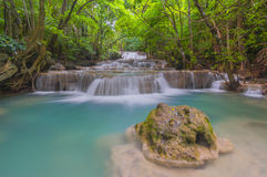 Huai Mae Khamin Waterfall Stock Image