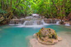 Huai Mae Khamin Waterfall Stock Images