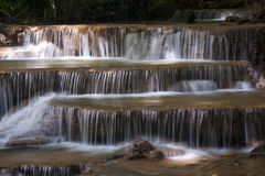 Huai Mae Khamin Waterfall 2 Royalty Free Stock Images