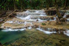 Huai Mae Khamin Waterfall Royalty Free Stock Photo