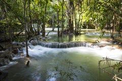 Huai Mae Khamin Waterfall, Tailandia Fotografie Stock